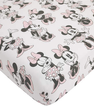 Disney Minnie Mouse Fitted Mini Crib Sheet Bedding