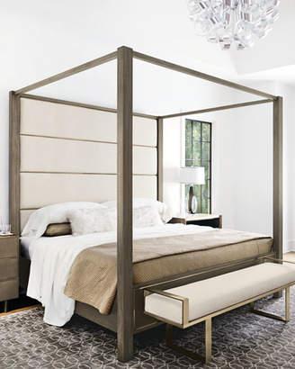 Bernhardt Profile Canopy King Bed