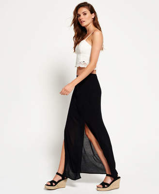 Superdry Eivissa Split Maxi Skirt