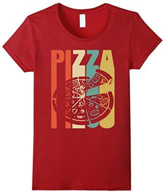 Classic Vintage Retro Pizza. Funny Tshirt Gift Lover Pizza
