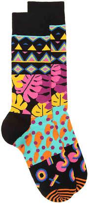 Happy Socks Geo Crew Socks - Men's