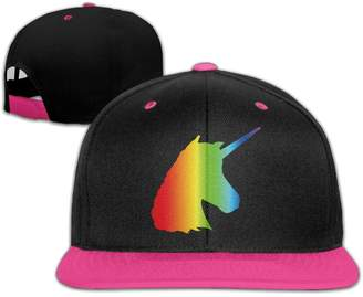 Shorby Cap Lgbt Pride Month Unicorn Baseball Snapback Hip Hop Cap Customized For Man