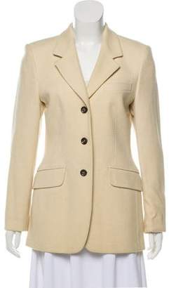 St. Emile Wool Notch-Lapel Blazer