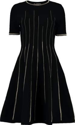 Oscar de la Renta Fit N Flare Dress