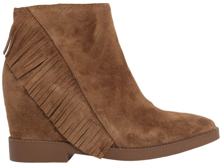 AshGossip Fringed Ankle Boots