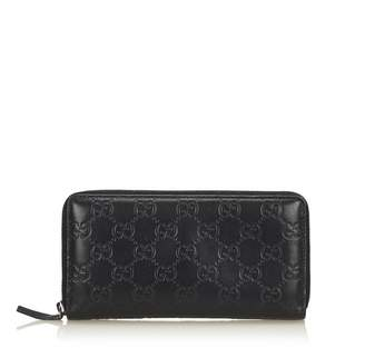 Gucci Vintage Guccissima Leather Long Wallet