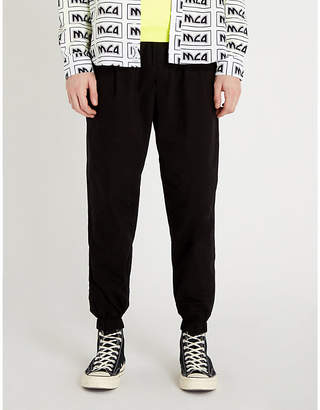 McQ Relaxed-fit cotton-jersey jogging bottoms