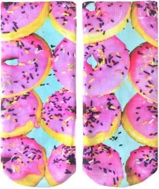 LIVING ROYAL - Pink Donut Ankle Socks