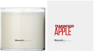Bluewick Home & Body Co. Equinox Series Teakwood Apple Candle