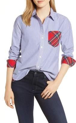 Vineyard Vines Morgan Stripe & Plaid Shirt