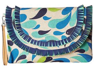 Vera Bradley Fringed Wristlet Wristlet Handbags