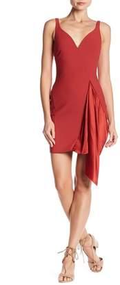 Cinq à Sept Mallory Draped Panel Dress
