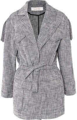 See by Chloe Drawstring Cotton-blend Jacket - Navy