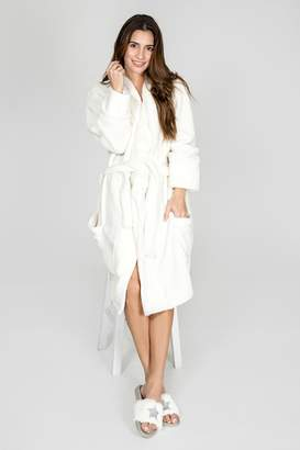 8d9a8fb6b2 at Shoptiques · PJ Salvage White Luxe Robe