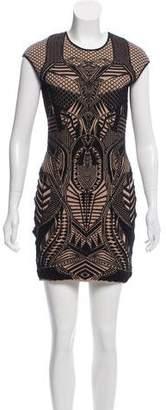 RVN Intarsia Mini Dress