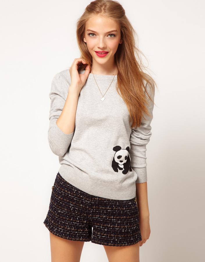 A/Wear A Wear Panda Sweater