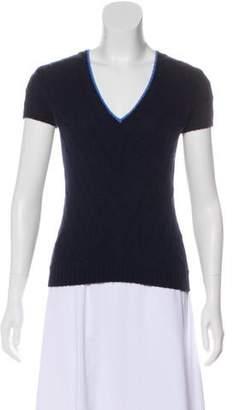 Ralph Lauren Black Label Cashmere Knit Top