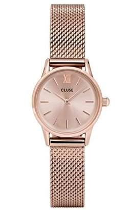 Cluse Women's La Vedette 24mm Steel Bracelet Metal Case Quartz Watch CL50002