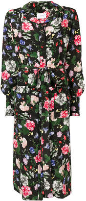 Erdem Quenna floral shirt dress