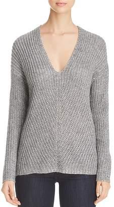 Vero Moda Escalon Metallic V-Neck Sweater