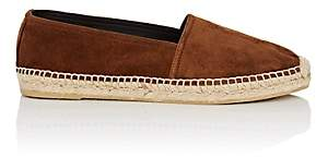 Saint Laurent Women's Logo-Detail Suede Espadrilles-Beige, Tan