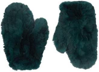 Yves Salomon Rabbit Fur Gloves