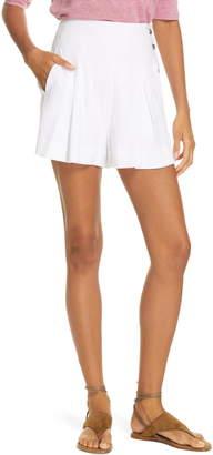 Vince Pleat Front Shorts