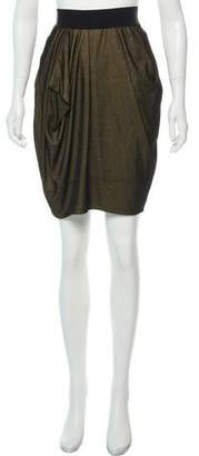 Marc by Marc Jacobs Draped Knee-Length Skirt