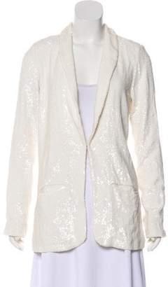 Calypso Sequin Embellished Silk-Blend Jacket