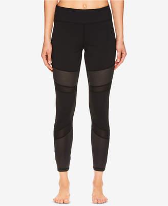 Gaiam Naomi Mesh-Detail Ankle Leggings