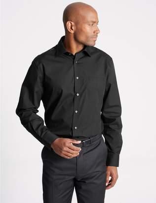 Marks and Spencer 2in Longer 3 Pack Regular Fit Shirts