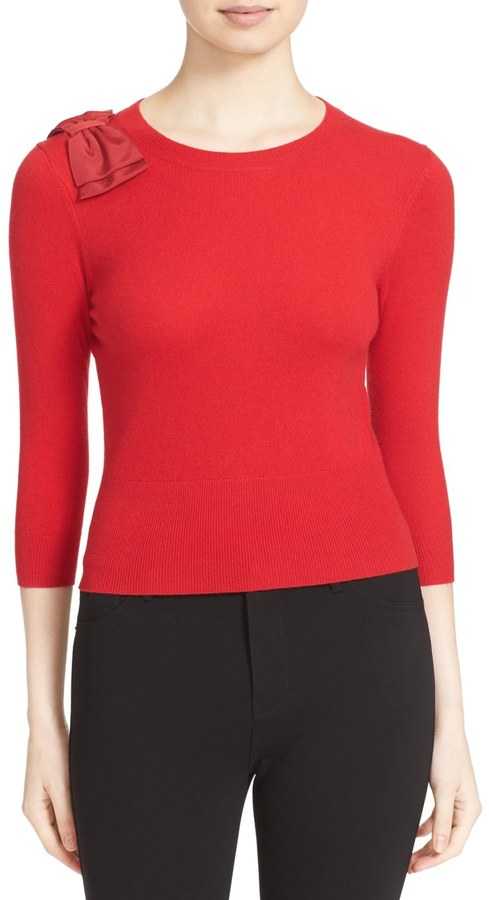 Ted Baker London &Callah& Bow Detail Crewneck Sweater 3