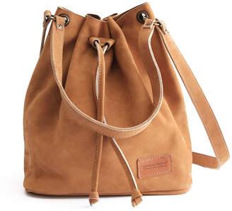 Cueropapel&Tijera Leather Bucket Bag