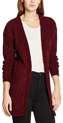 boohoo Women's Martha Boucle Knit Edge Cardigan,(Manufacturer Size:Small)