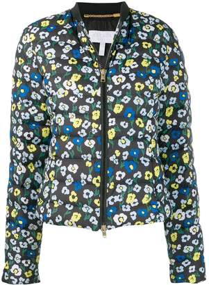 Escada Sport floral-print quilted jacket