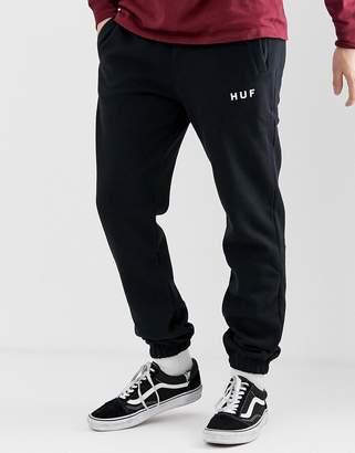 HUF Original Logo Joggers In Black