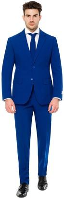 DAY Birger et Mikkelsen Opposuits Men's OppoSuits Slim-Fit Navy Royale Flaminguy Suit & Tie Set