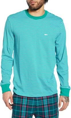 Obey Long Sleeve Stripe T-Shirt