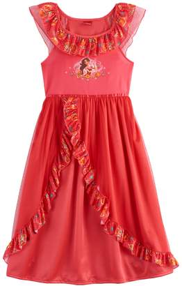 e29d4e30afba Disney Disney s Elena of Avalor Girls 4-8 Fantasy Nightgown