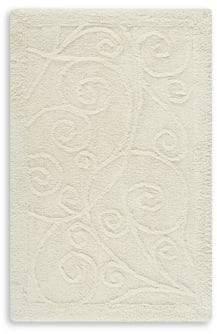 Safavieh Plush Master Scroll Cotton Bath Rug- Set of 2
