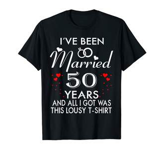 Medotukito Designs 50th Wedding Anniversary For Husband and Wife Couples Shirt