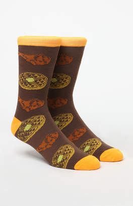 Chicken & Waffles Crew Socks