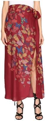 Free People Bri Bri Butterfly Maxi Dress Women's Skirt