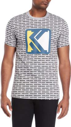Karl Kani Allover Logo Tee