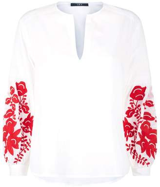 SET Embroidered Blouse
