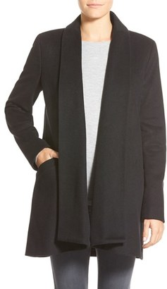 Women's Calvin Klein Wool Blend Clutch Coat $300 thestylecure.com