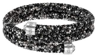Swarovski Crystal Dust Studded Crystal Wrap Cuff Bracelet
