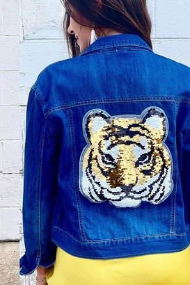 Bella Bella Sequin Tiger Jacket