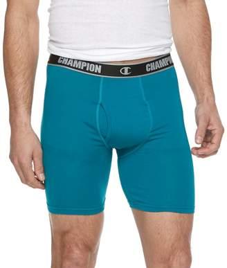 Champion Men's Vapor 3-pack Stretch Long-Leg Boxer Briefs