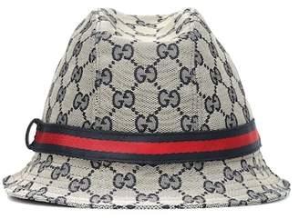 444459fab58 Gucci Kids Original GG bucket hat